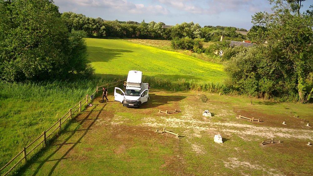 Aire camping-car à Créances (50710) - Photo 8